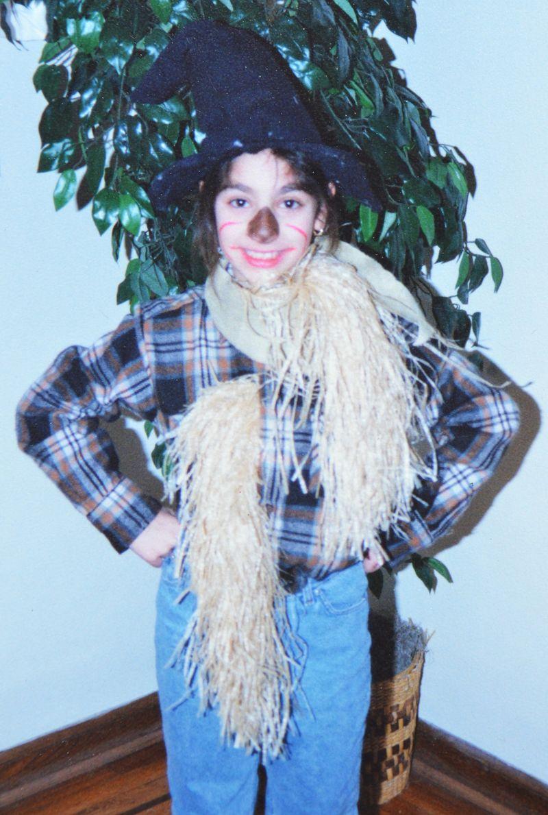 Halloweens Past | Scarecrow | Amanda Rose blog