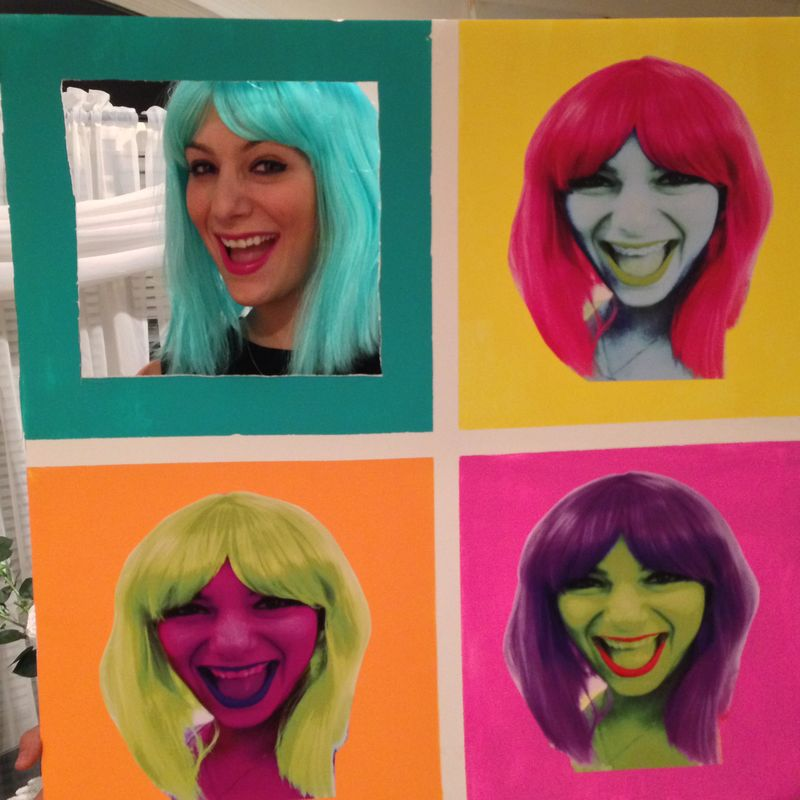 Pop Art Halloween Costume | Amanda Rose blog 01
