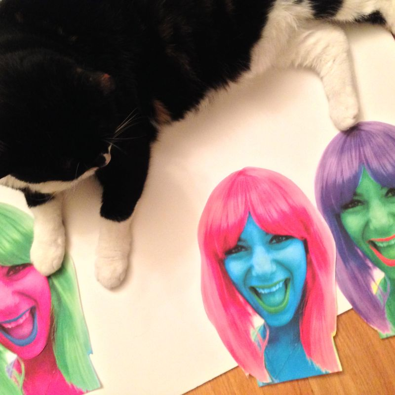 Pop Art Halloween Costume | Amanda Rose blog 03