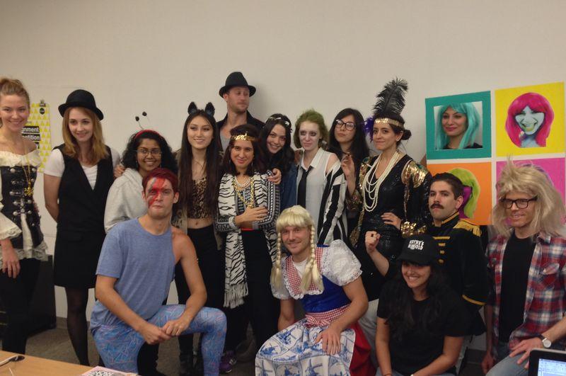 Pop Art Halloween Costume | Amanda Rose blog 05