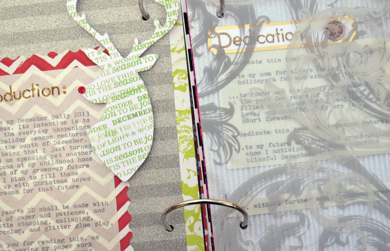 Dec Daily 2013 Cover-Intro 06 | Amanda Rose blog