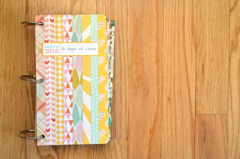01_30 Lists Book 2014 | Amanda Rose blog