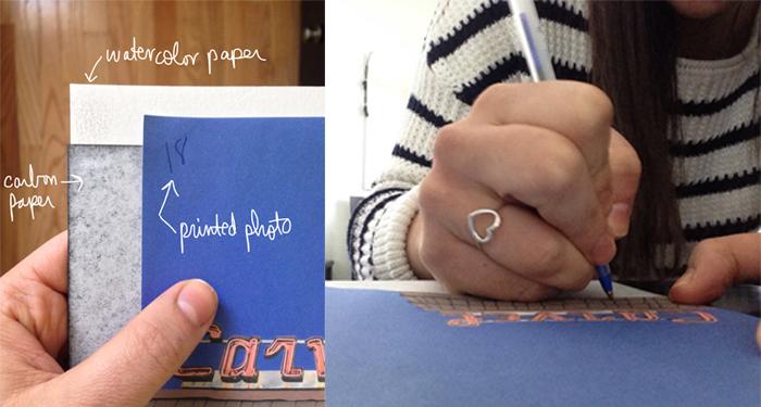 00 We R materials after tracing 4 | Amanda Rose blog