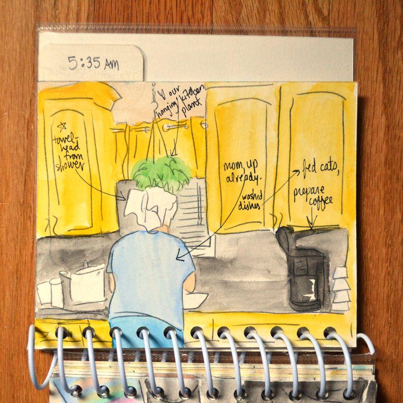 04 watercolored mini | Amanda Rose blog