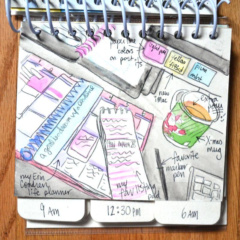 07 watercolored mini | Amanda Rose blog