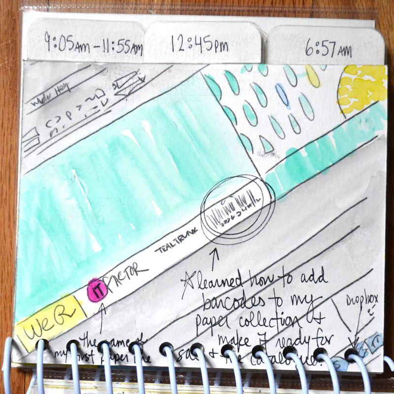 13 watercolored mini | Amanda Rose blog