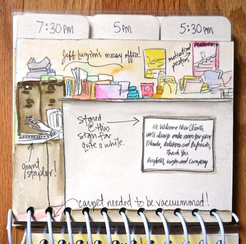 23 watercolored mini | Amanda Rose blog