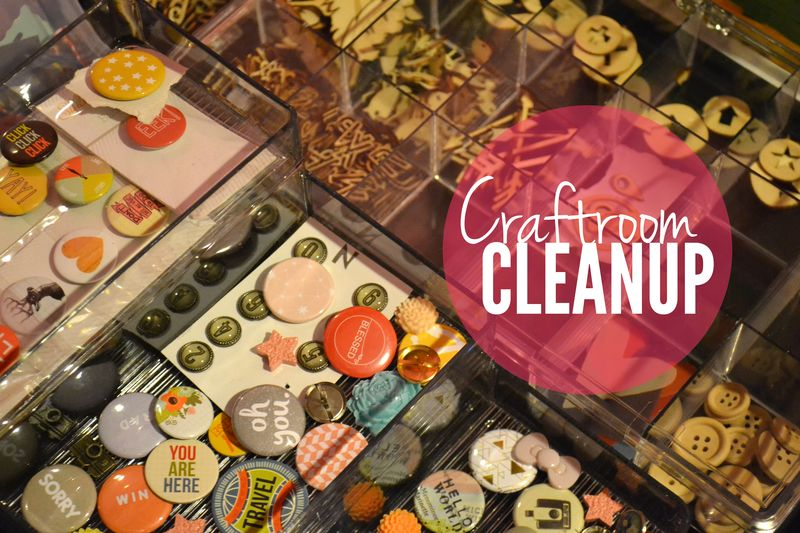 Crafroom cleanup 00 | Amanda Rose blog