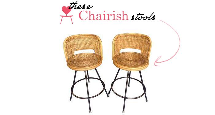 CHARISH stools | Amanda Rose blog