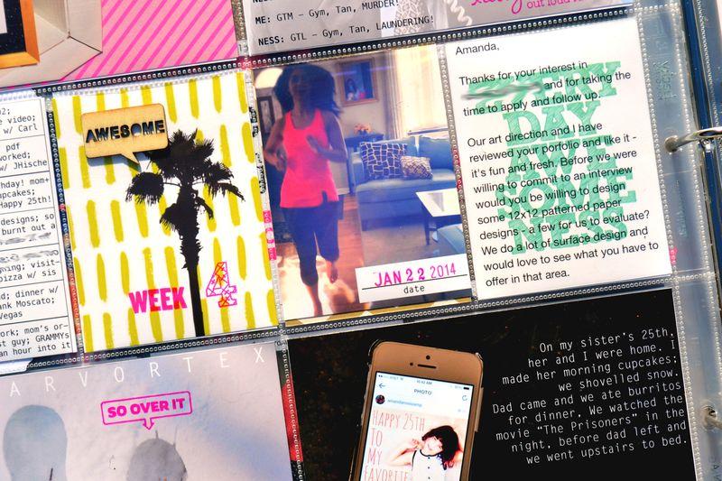 PL 2014 | week 04 | 06 | Amanda Rose blog