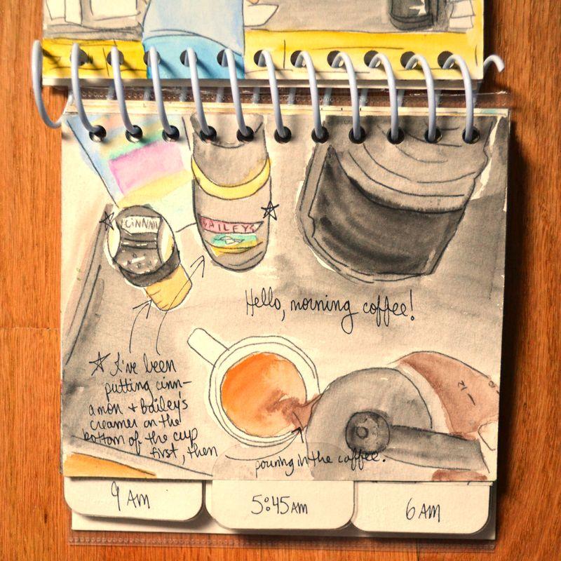 05 watercolored mini | Amanda Rose blog