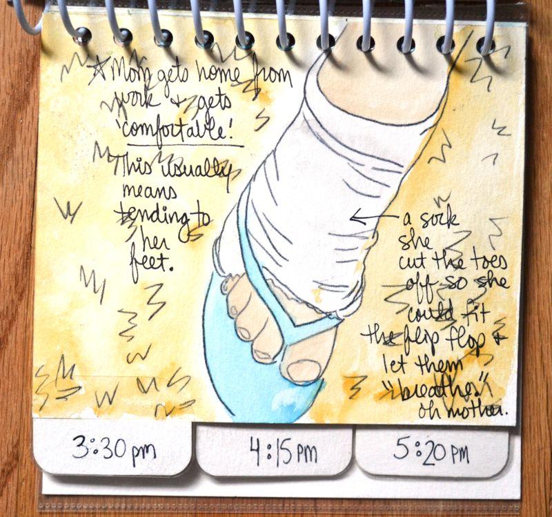 16 watercolored mini | Amanda Rose blog