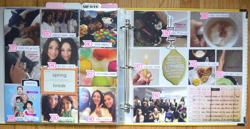 Life Album APRIL 10 | Amanda Rose blog
