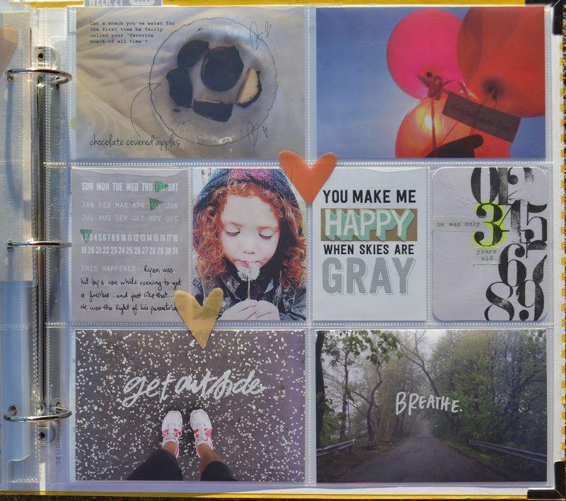 Life Album |weeks 18&19| 07 | Amanda Rose blog