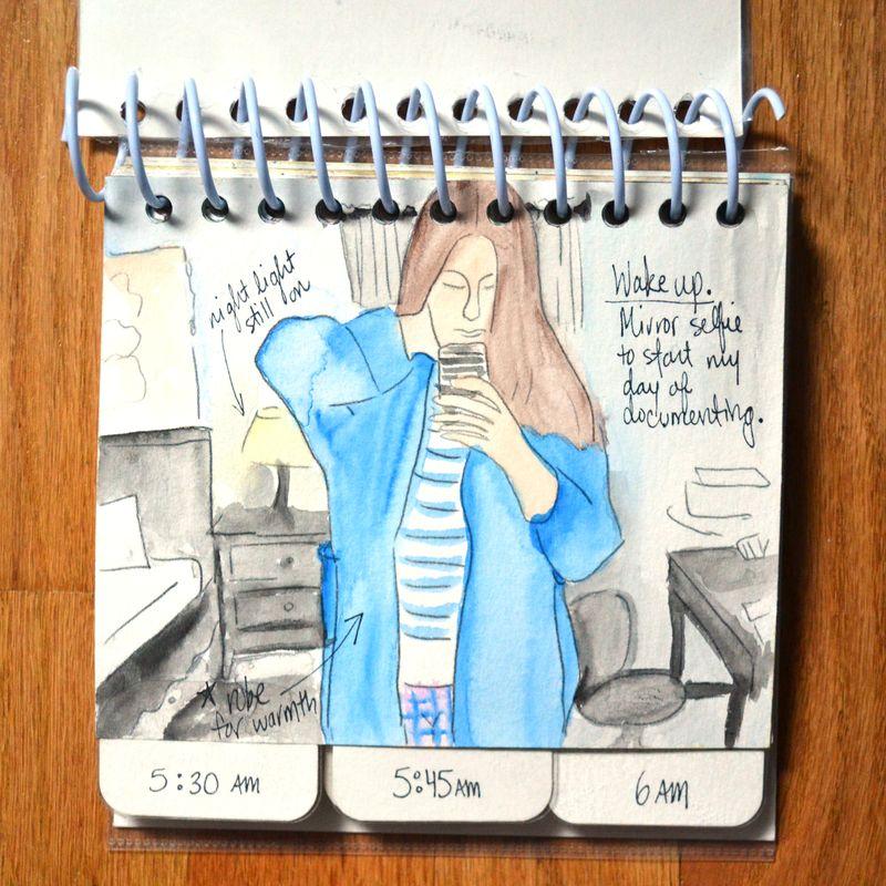 03 watercolored mini | Amanda Rose blog