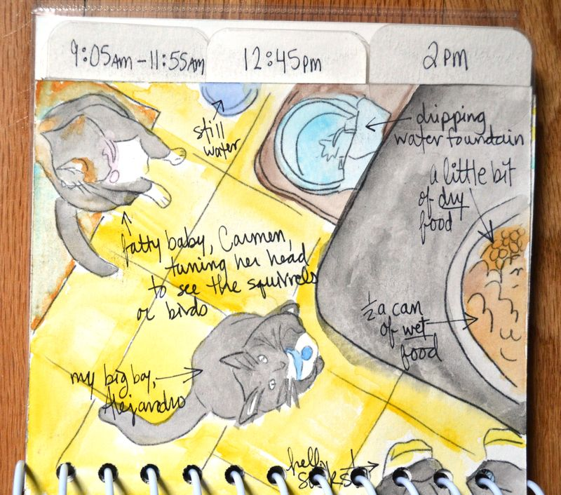 15 watercolored mini | Amanda Rose blog