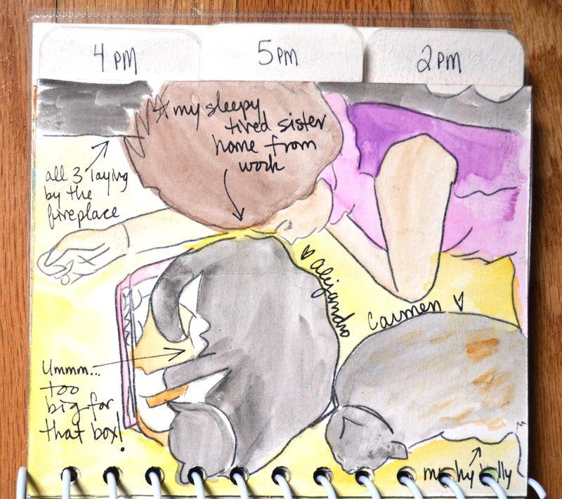 19 watercolored mini | Amanda Rose blog