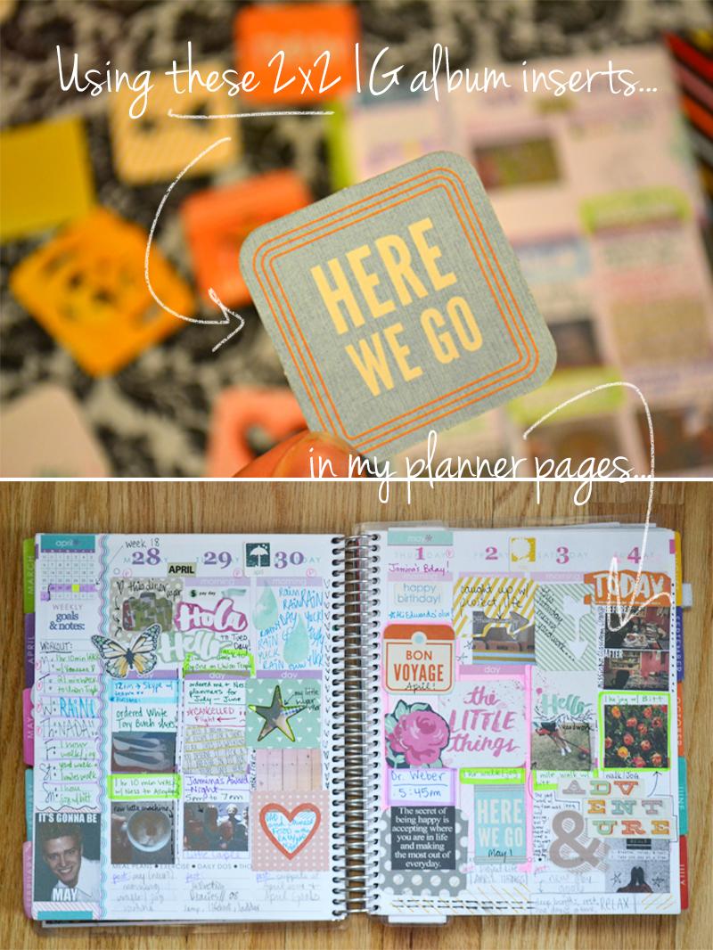 2x2s in Planner 0 | Amnda Rose blog