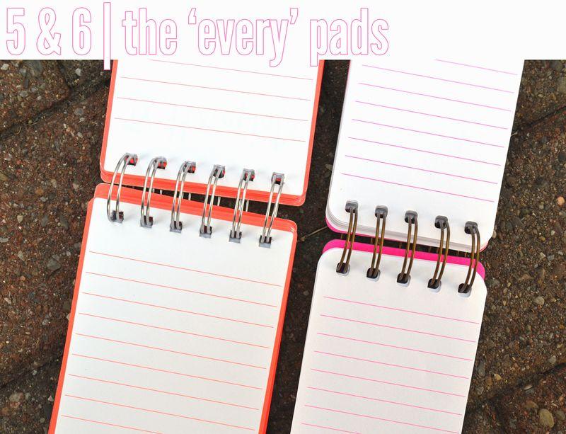 Number of notebooks_05&06 | Amanda Rose blog