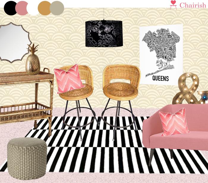CHAIRISH room | Amanda Rose blog