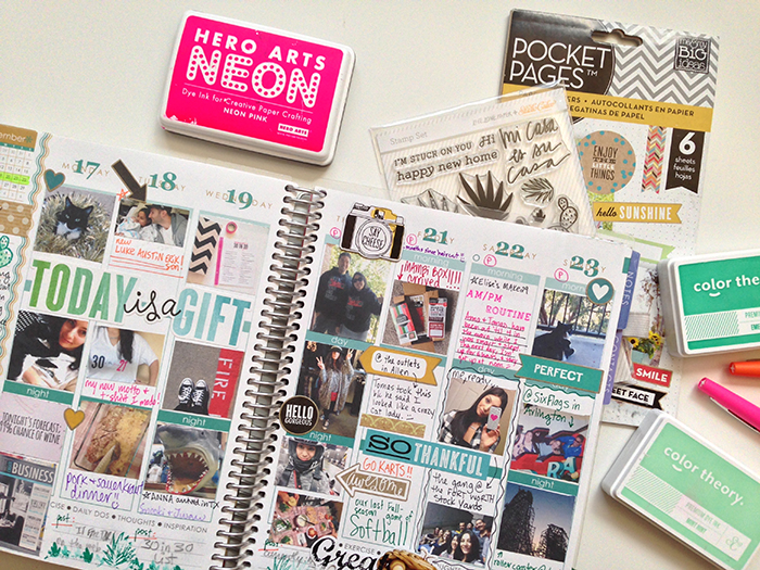 1 month left w/ my Erin Condren life planner + thoughts on planning in 2015 | Amanda Rose Zampelli