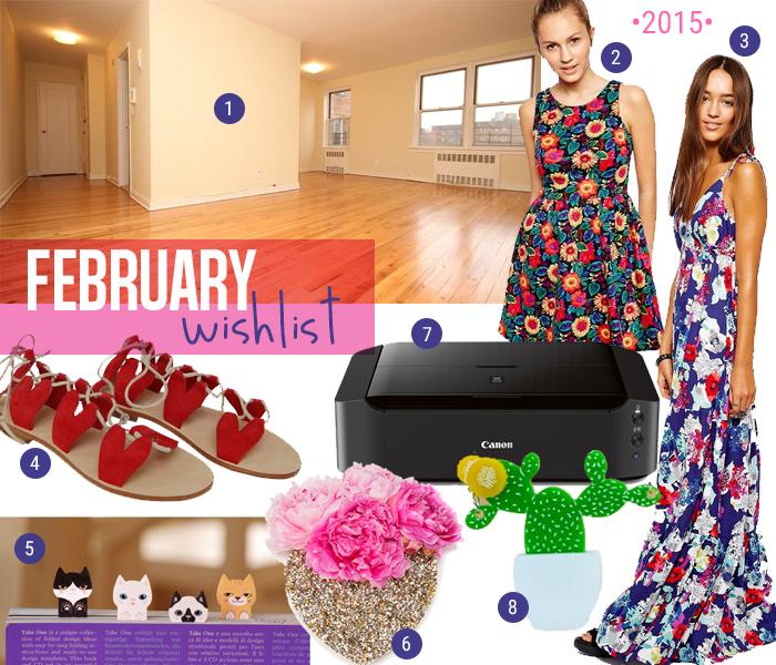 Feb 2015 wishlist