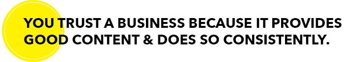 TRUST BUSINESS   Amanda Rose blog