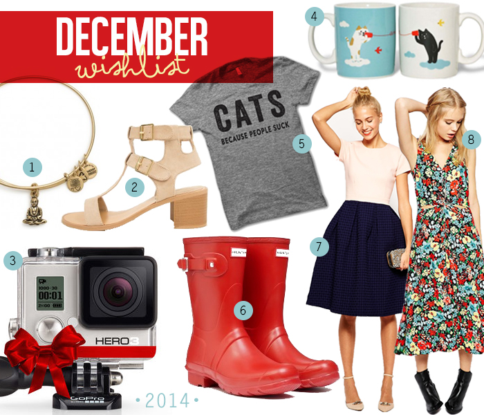 December 2014 wishlist