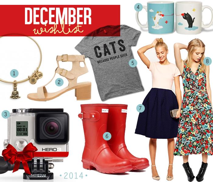 December 2014 wishlist
