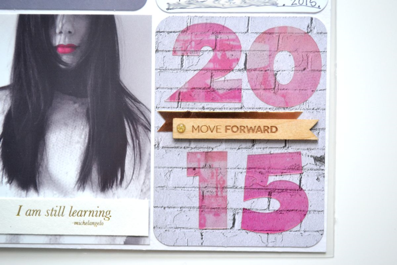 Project Life 2015 // intro page | via Amanda Rose Zampelli