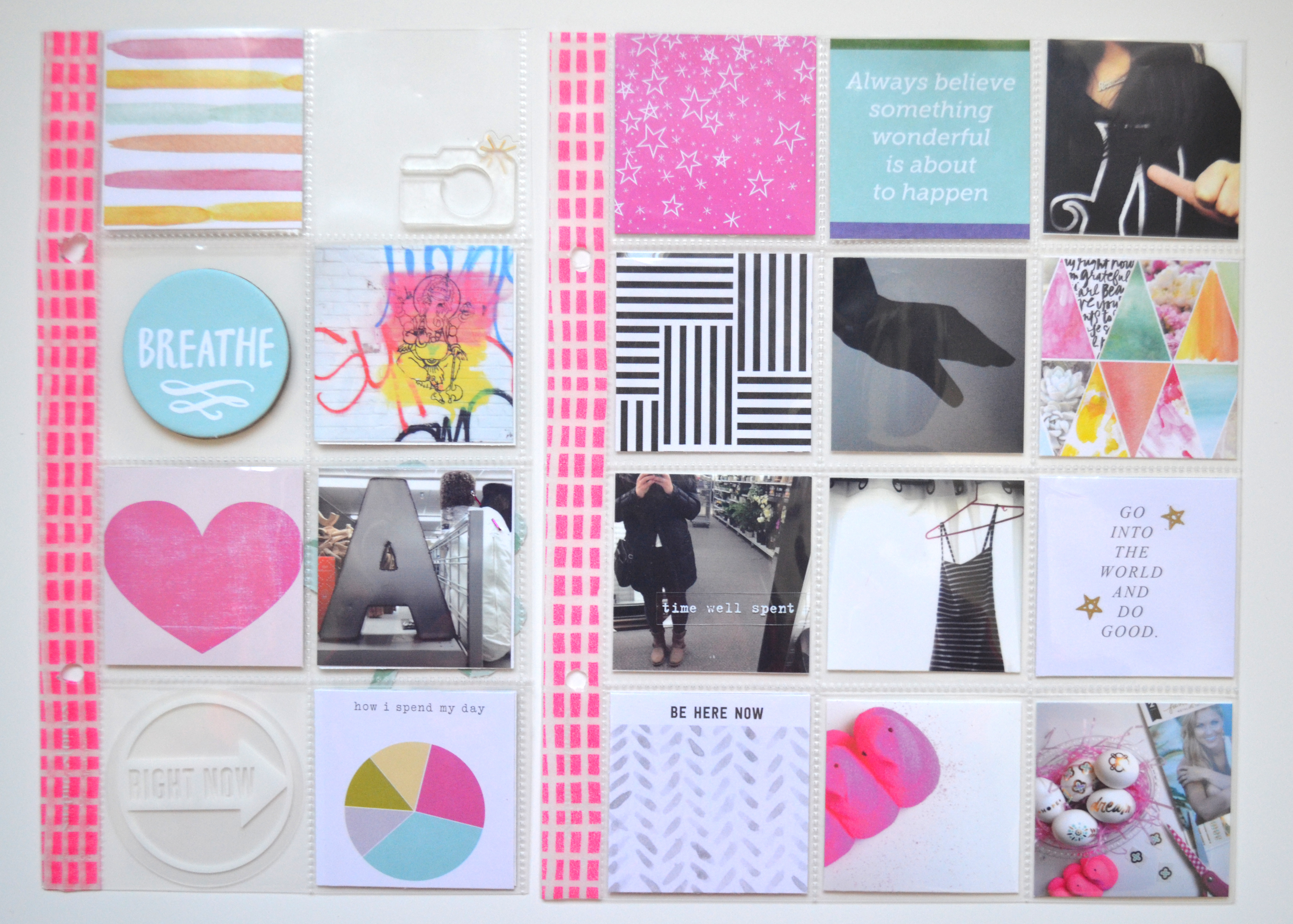 Project Life Card Ideas Calico Project Life Cards